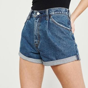 NWT abercrombie mom shorts